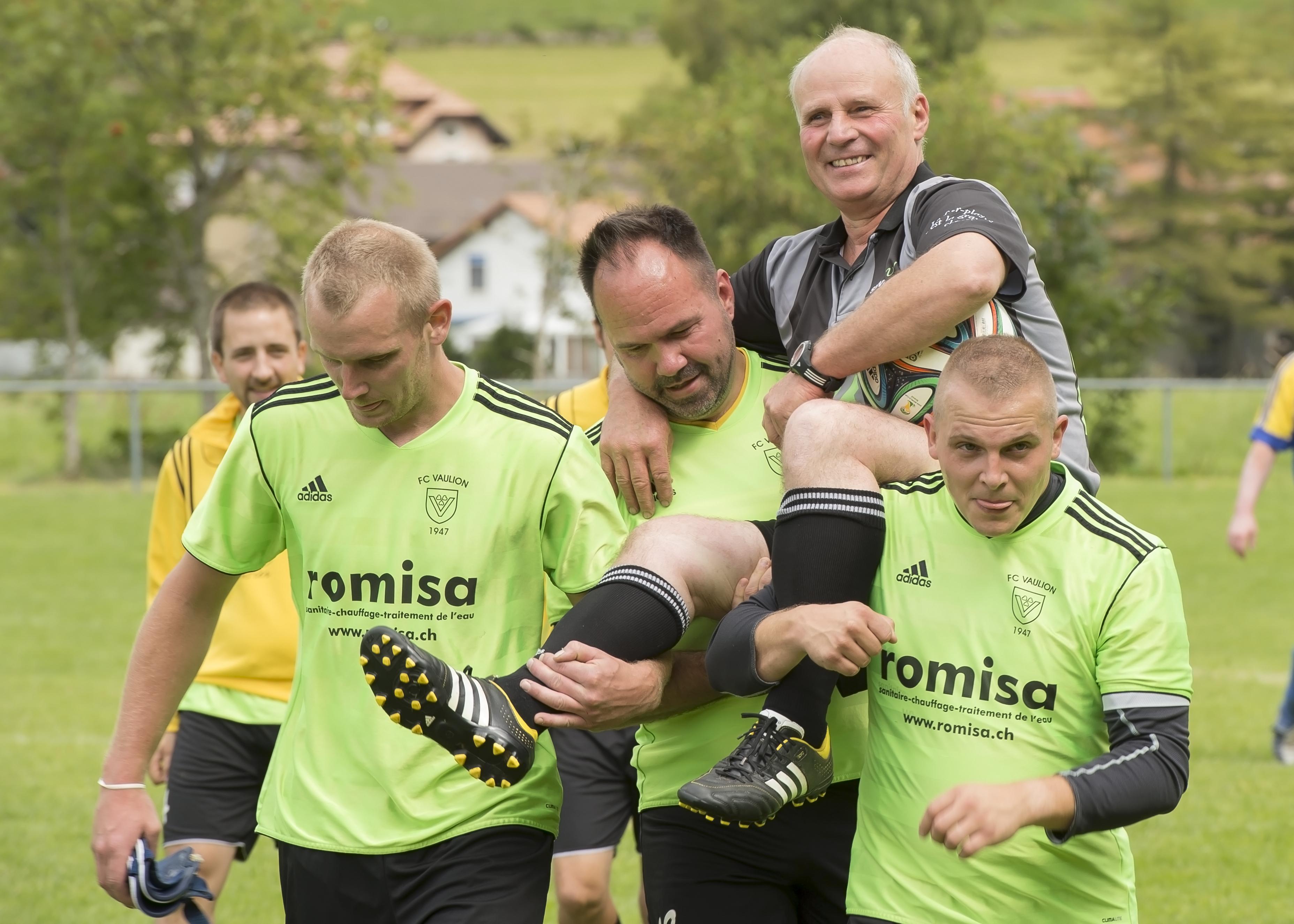 André Reymond fêté pour 40 ans de présidence du FC Vaulion