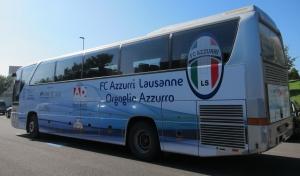 Le tout nouveau bus d'Azzurri 90 (photo: DR).